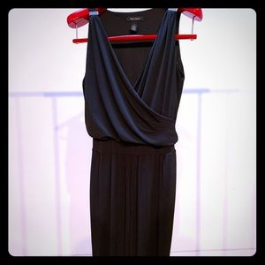 WHBM Sexy Black Jumpsuit - Comfy w Pockets! Size 4